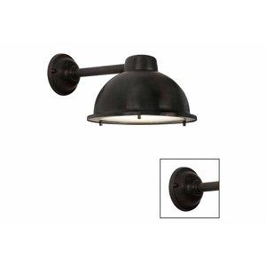 Frezoli wandlamp Nasso Donkerbruin zwart finish L.737.2.150