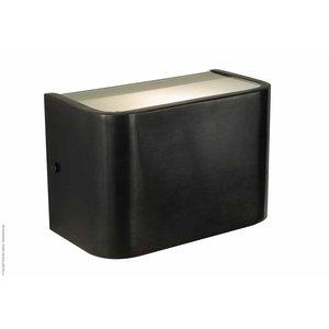 Wandlamp frezoli vanno zwart finish L.739.2.150