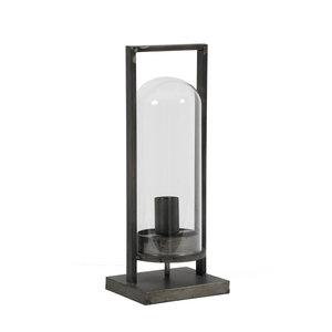 Light & Living Tafellamp jurre L antiek zwart