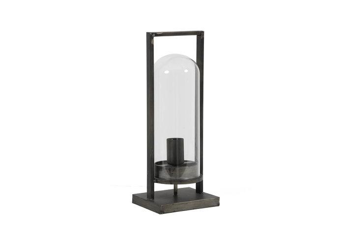 Light en Living Light & Living Tafellamp jurre L antiek zwart
