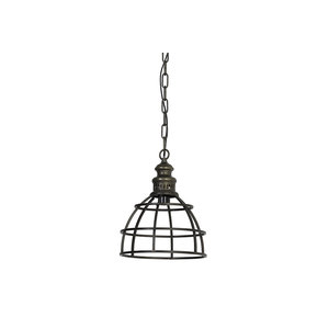 Hanglamp paige donker brons