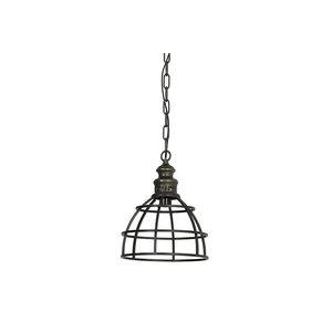 Light & Living Hanglamp paige donker brons