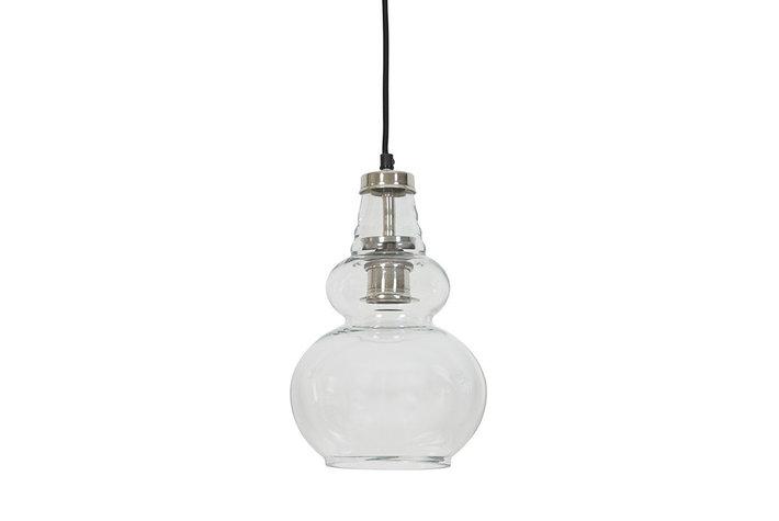 Light en Living Light & Living Hanglamp cile glas nikkel satijn