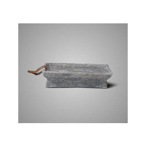 Brynxz candleholder rectangular rustic