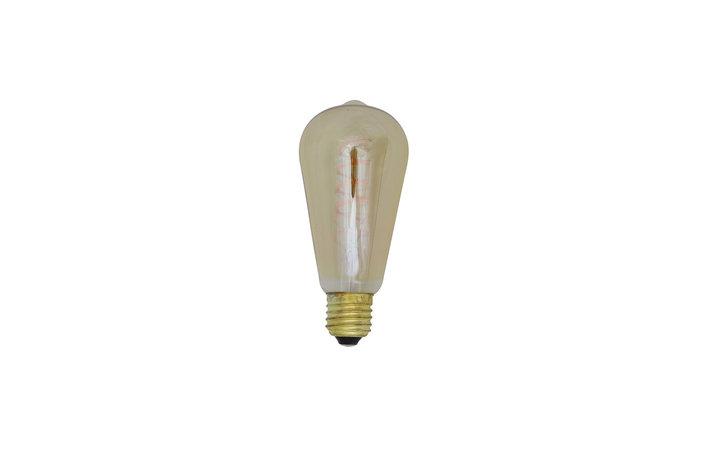 Light en Living Light & Living Led hoekig 4 watt amber dimbaar