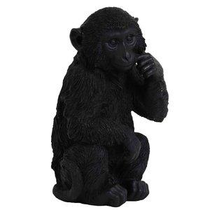 Light & Living ornament monkey zwart