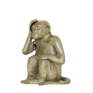 Light & Living ornament monkey 2 antiek brons