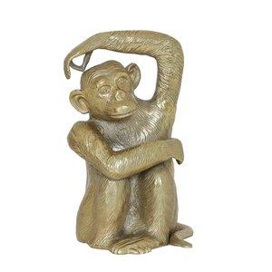 Light & Living ornament monkey antiek brons
