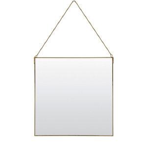 Spiegel momo goud