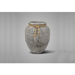 BRYNXZ planter allure rustic with rope L