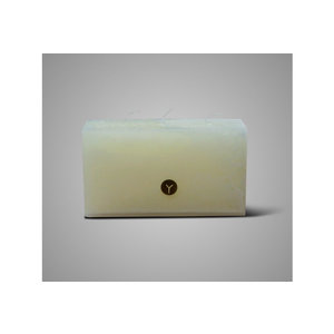 Brynxz candle ivory rectangular
