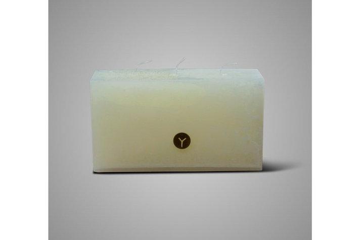 Brynxz Brynxz candle ivory rectangular