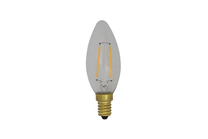 Light en Living Light & Living LED lamp candle clear 4W dimbaar