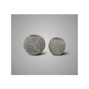 Brynxz set of 2 candlecups round rustic
