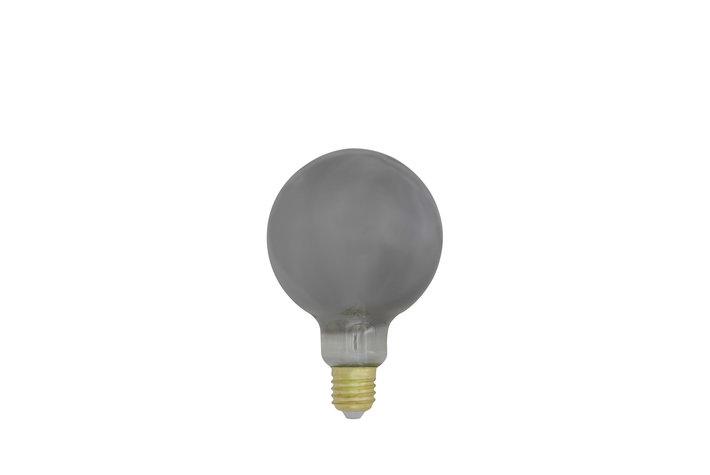 Light en Living Light & Living LED lamp globe smoke 4W dimbaar