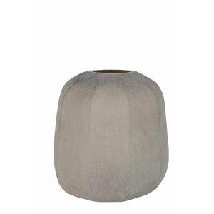Light & Living Vaas pacengo glas licht grijs