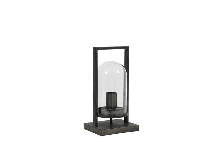 Light en Living Light & Living Tafellamp jelle antiek zwart