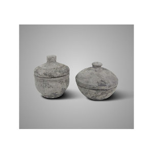 BRYNXZ set of 2 pot and top so rustic