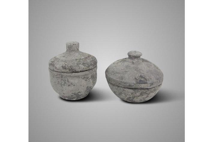 Brynxz BRYNXZ set of 2 pot and top so rustic
