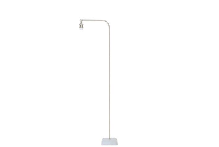 Light en Living Light & Living Industriele vloerlamp cement nikkel