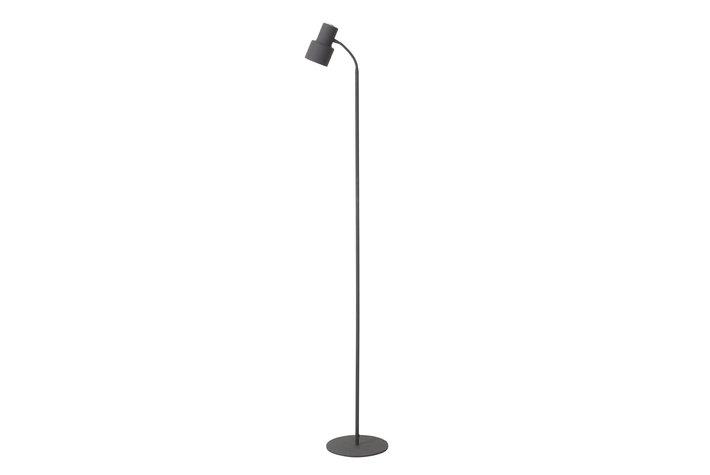 Light en Living Vloerlamp led warden grijs