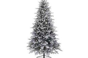 Kerstboom frosted 210cm groen