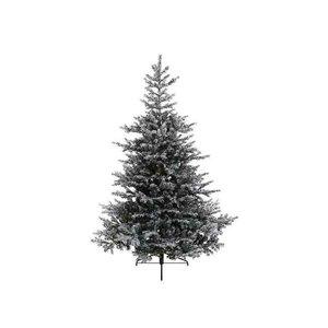 Kerstboom sneeuw 150cm groen wit