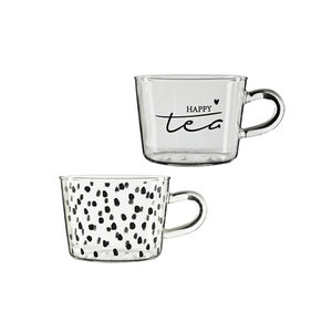 Bastion tumbler teaglass dots