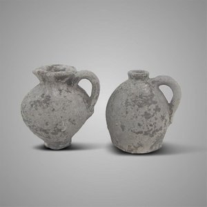 Set of jugs 1980 rustic