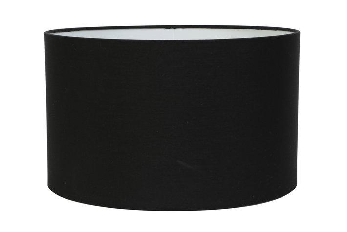 Light en Living Light & Living Kap cilinder 18-25-25 zwart