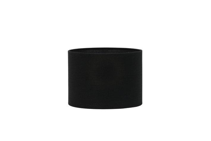 Light en Living Light & Living Kap cilinder 18-25-25 livigno zwart