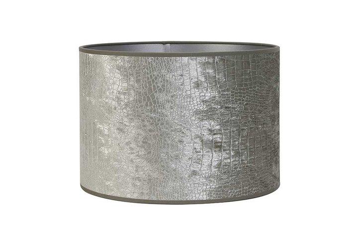 Light en Living Light & Living Kap cilinder 35-40-40 Chelsea Velours Zilver