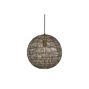 Light & Living Hanglamp Sarah bronze