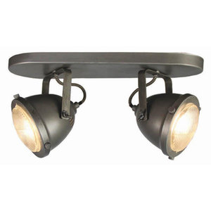 Led Spot 2 Light Burned steel