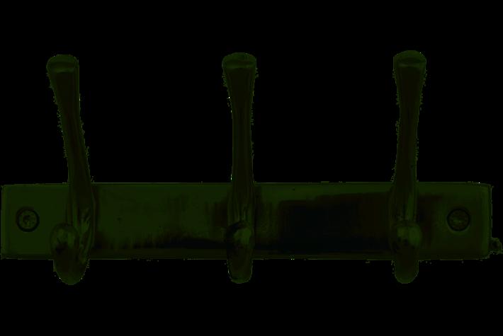 Kapstok 3-H Nikkel AHHGKH3