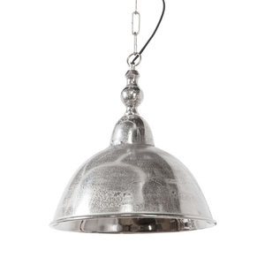 Light & Living Landelijke hanglamp ruw nikkel L