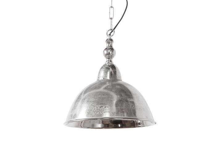 Light en Living Light & Living Landelijke hanglamp ruw nikkel L
