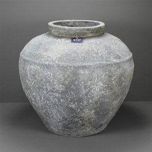 Vase old white