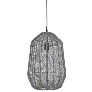 Light & Living Hanglamp Grijs Aukje