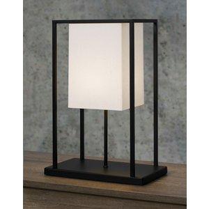 Frezoli tafellamp Skansen Mat zwart L.180.1.600