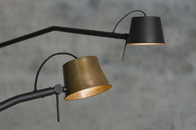 Frezoli Lighting by Tierlantijn Frezoli Pliz wandlamp Mat zwart L.215.1.650