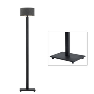 Frezoli vloerlamp Ketange Mat zwart L.218.1.600