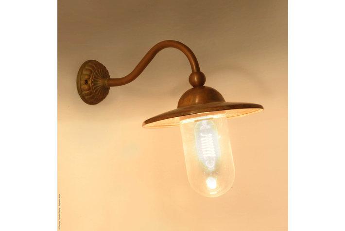 Frezoli Lighting by Tierlantijn Frezoli wandlamp Marano Bruin patina L.717.1.850