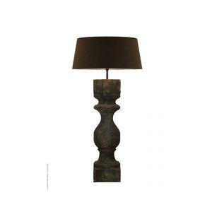 Frezoli vloerlamp Rovigo X-large Grijs/zwart L.137.1.000