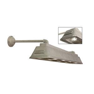 Frezoli wandlamp Bizz small Aluminium L.841.2.800