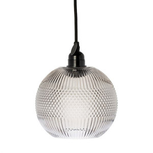 Hanglamp Glas  Smoke