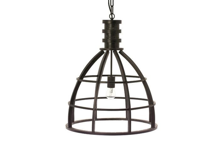 Riverdale Hanglamp Zwart Metaal