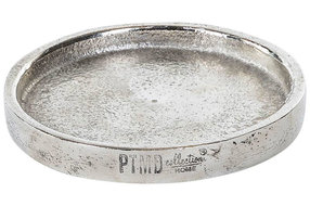 PTMD Candle plate S Aluminium 8cm