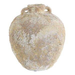 Auckland Ceramic Jar Grijs