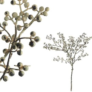 Berry Plant Grey Grijs/Groen